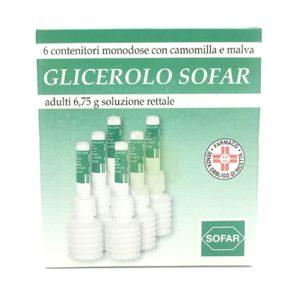 Glicerolo Sofar adulti Microclicmi