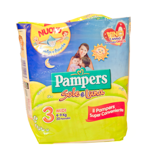 Pampers Sole e Luna