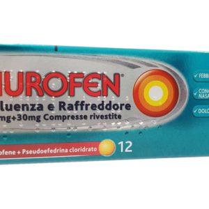 Nurofen influenza e raffreddore 24 cpr